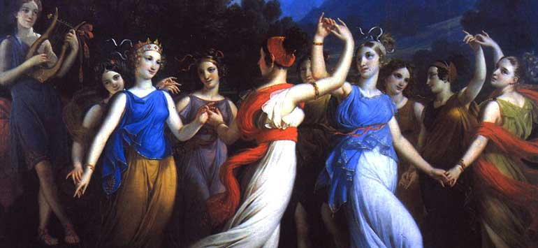 The Muses' Villas, THALIA, KLEIO and ERATO